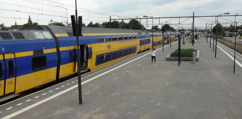 station Blerick-duurzame perrontegel